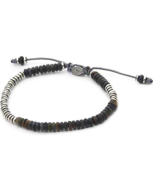 M. Cohen - Mens Black Round Table Bracelet for Men - Lyst