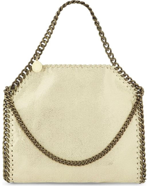 Stella McCartney | Yellow Falabella Faux-leather Cross-body Bag | Lyst