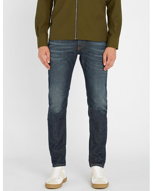 6ac05361 DIESEL Thommer Slim-fit Skinny Denim Jeans in Blue for Men - Lyst