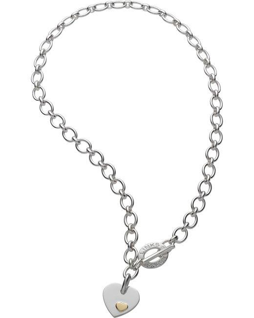 Links of London | Metallic Classic Heart Pendant Necklace | Lyst