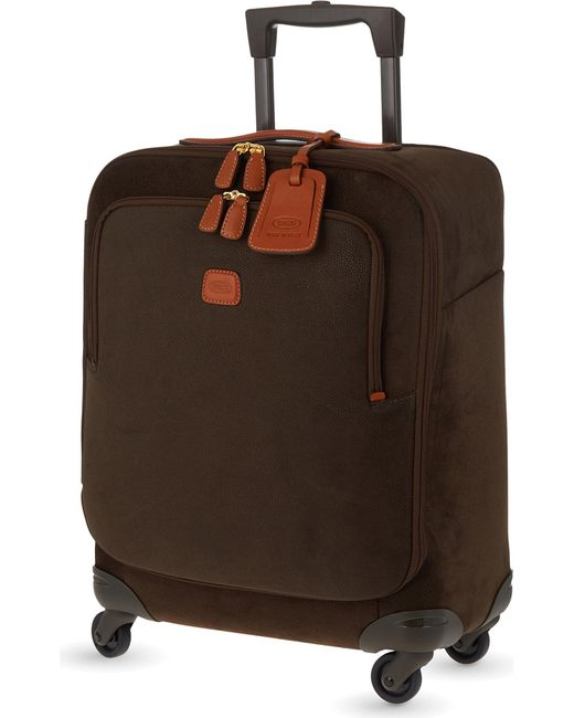 Bric's - Green Life Four-wheel Cabin Suitcase 54cm for Men - Lyst