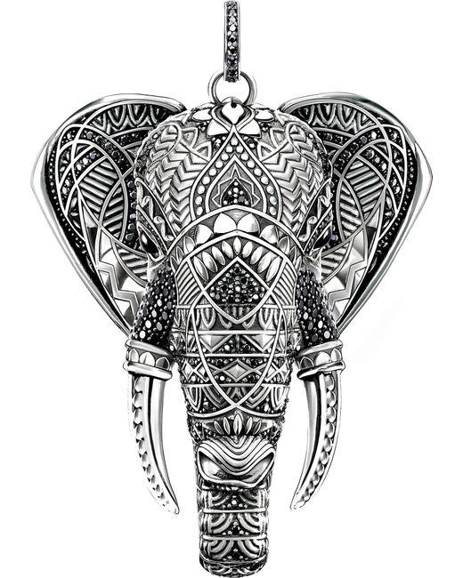 Thomas Sabo | Metallic Elephant Head Sterling Silver | Lyst
