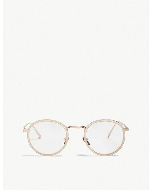 Linda Farrow - Multicolor Lfl182 Oval-frame Sunglasses - Lyst