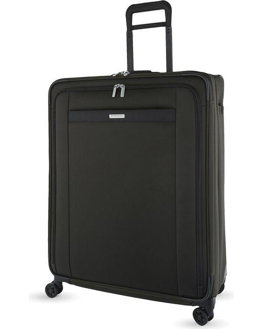 Briggs & Riley - Black Transcend Four Wheel Suitcase 74cm for Men - Lyst