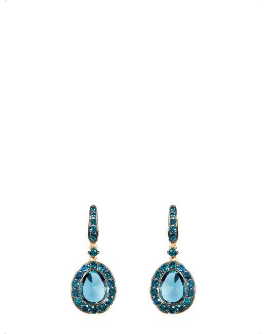 Annoushka - Blue Dusty Diamonds 18ct Rose-gold - Lyst