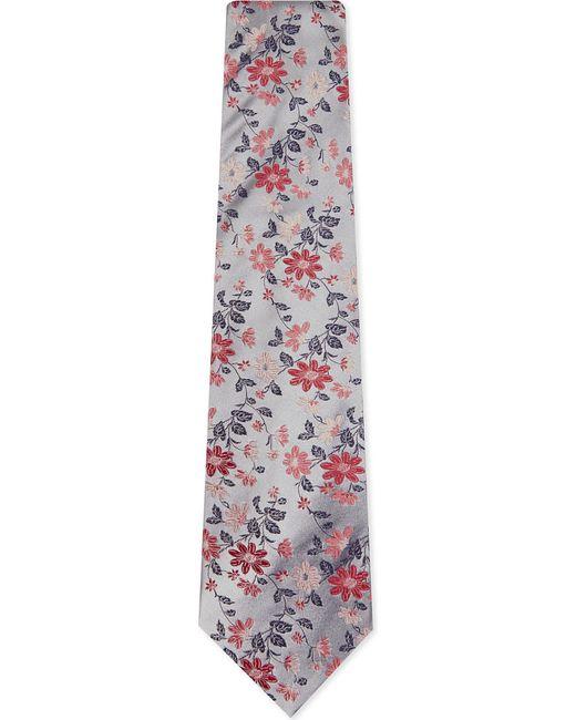 Duchamp | Pink Fancy Floral Silk Tie for Men | Lyst