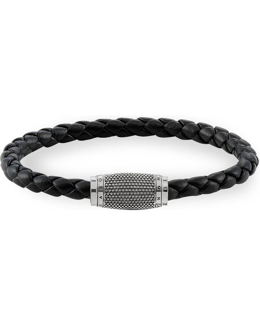 Thomas Sabo | Metallic Rebel At Heart Leather Unity Bracelet | Lyst