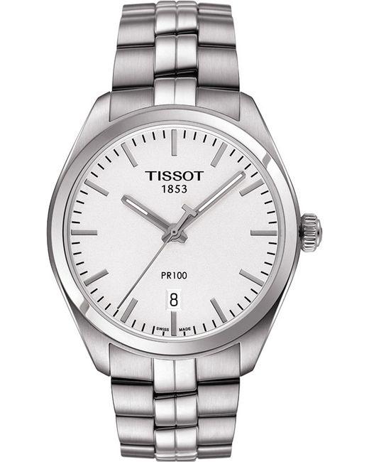 Tissot - Metallic T101.410.11.031.00 Pr 100 Stainless Steel Watch for Men - Lyst
