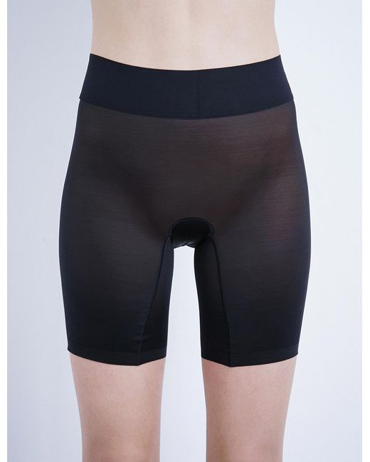 Wolford - Black Sheer Touch Control Shorts - Lyst
