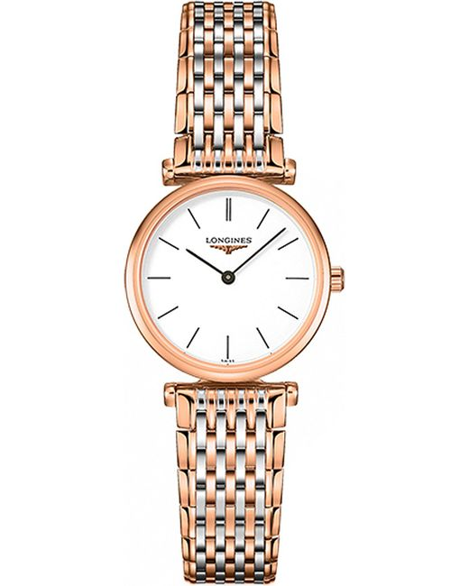 Longines | White L42091927 La Grande Classique Stainless Steel Watch | Lyst
