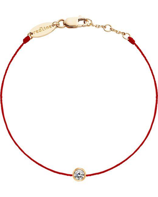 The Alkemistry - Metallic Redline 18ct Rose-gold And Diamond Bracelet - Lyst