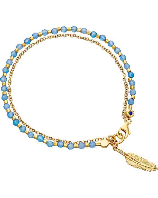Astley Clarke - Metallic Feather Biography Bracelet - Lyst
