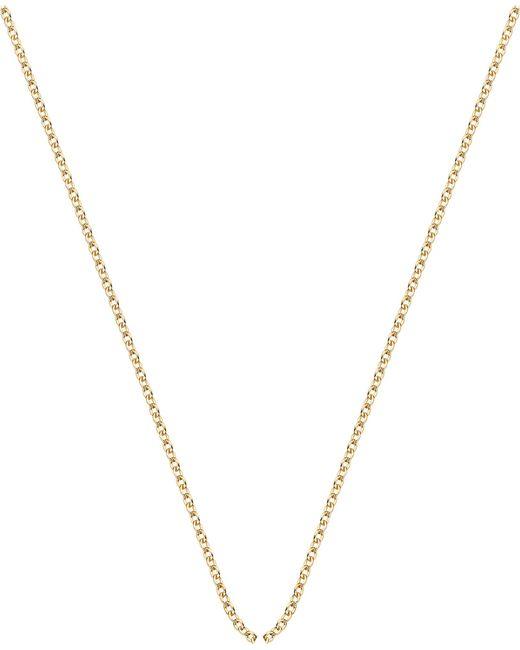 Monica Vinader - Metallic 18ct Yellow-gold Plated Rolo Neck Chain - Lyst