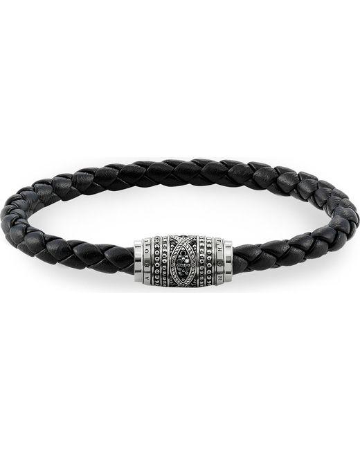 Thomas Sabo - Metallic Rebel At Heart Leather Unity Bracelet - Lyst