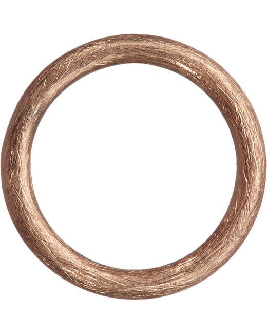 Annoushka - Metallic Hoopla 18ct Rose-gold Small Hoop Pendant - Lyst