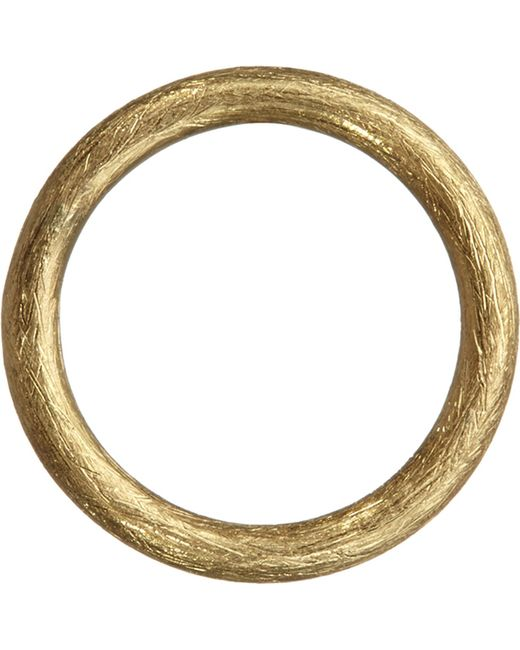 Annoushka - Metallic Hoopla 18ct Yellow-gold Small Hoop Pendant - Lyst