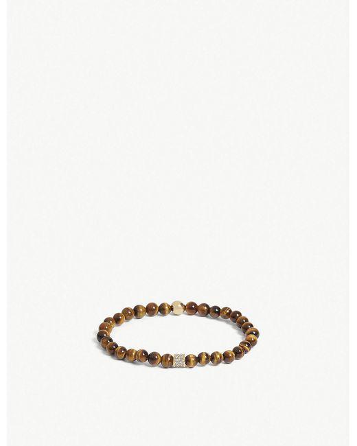 Nialaya - Multicolor Tiger Eye Bead Bracelet - Lyst