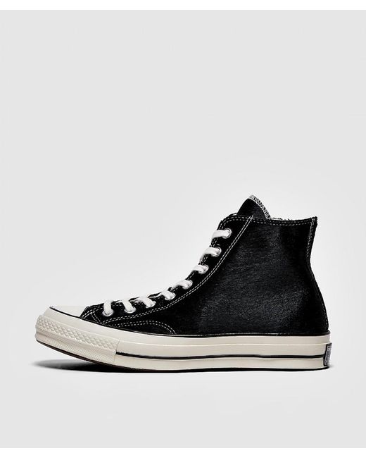 Converse - Black Chuck Taylor All Star 70 s Pony Hair Sneaker for Men - Lyst  ... 8d20aff42
