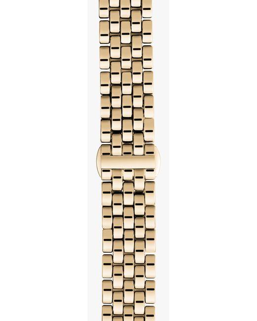 Shinola   Metallic 20mm Yellow Gold Bracelet   Lyst