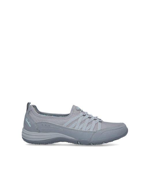 Skechers Gray Unity Go Big Slip On Flat Sneakers Grey
