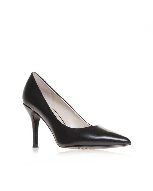 Nine West - Black 'flax' Mid Heel Court Shoes - Lyst