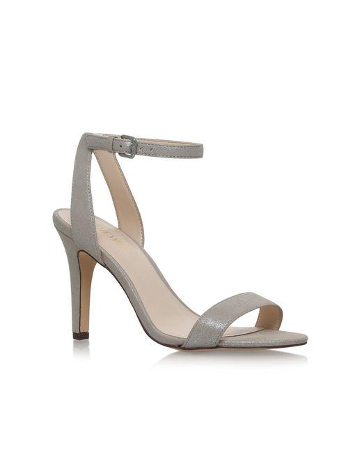 Nine West | Metallic Aniston Sandals | Lyst