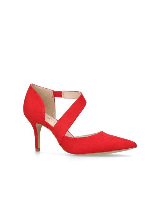 Nine West - Red Kremi High Heel Sandals - Lyst