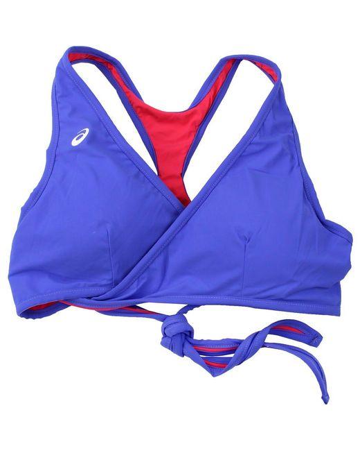 Asics Blue Keli Bikini Top