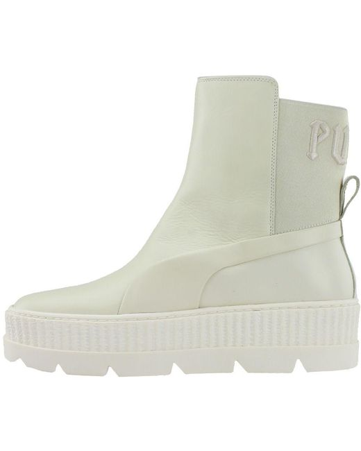 ebf20ca5306 ... PUMA - White Fenty By Rihanna Chelsea Sneaker Boot for Men - Lyst ...