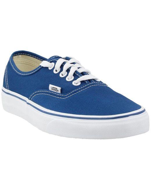 Vans - Blue Authentic for Men - Lyst