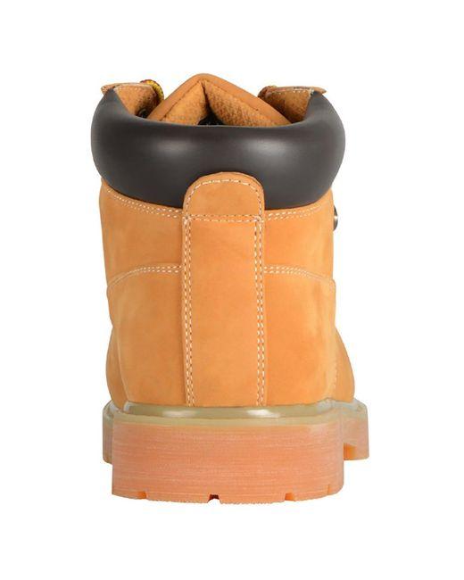 135c820a5aa Lugz Drifter Mid Steel Toe for Men - Lyst