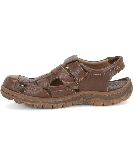 Born - Brown Men's Cabot Ii Fisherman Sandals for Men - Lyst