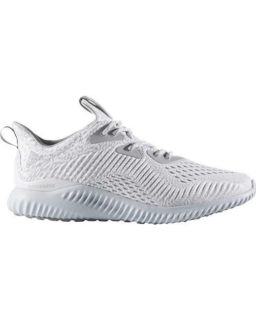 lyst adidas alphabounce aramis scarpa da corsa in grigio per gli uomini.