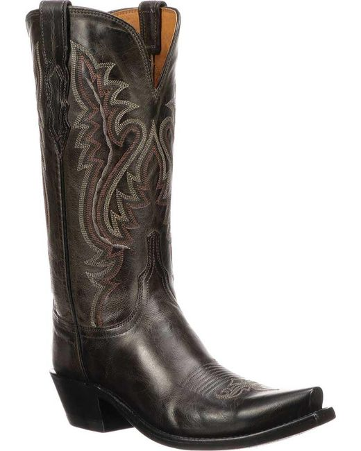 Lucchese Bootmaker - Multicolor Cassidy S5 Toe Western Boot - Lyst