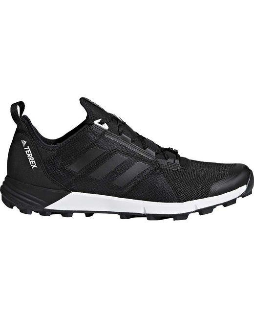 Velocidad de agravic Lyst Adidas Terrex Trail corriendo zapatos in negro para hombres