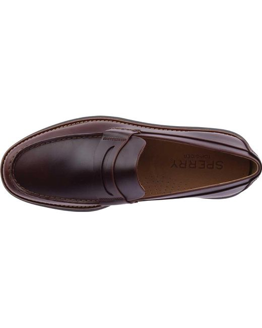 197aed0c35e ... Sperry Top-Sider - Multicolor Kennedy Penny Loafer for Men - Lyst ...