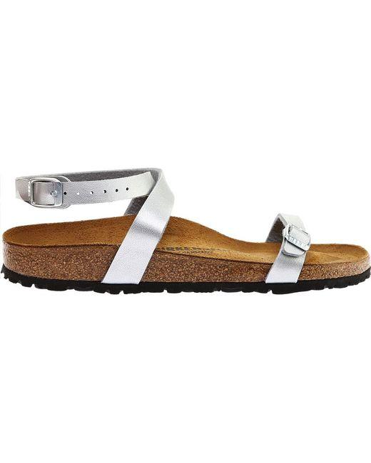 f3ea2136bcd ... Birkenstock - Brown Daloa Ankle Strap Sandal - Lyst ...