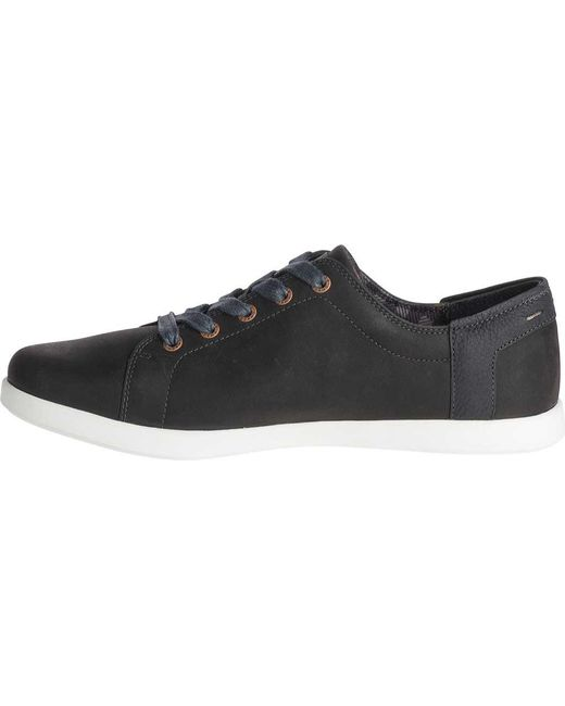 7c8345e8761a ... Chaco - Black Ionia Lace Leather Sneaker - Lyst ...