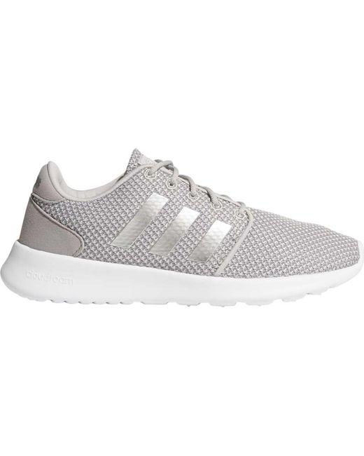 38a85b8972a ... Adidas - Gray Cloudfoam Qt Racer Sneaker - Lyst ...