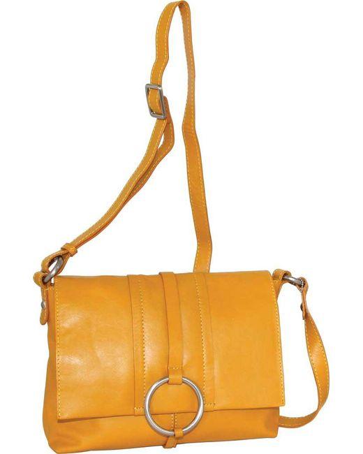 306c6105e814 Nino Bossi - Multicolor Hazeline Leather Cross Body Bag - Lyst