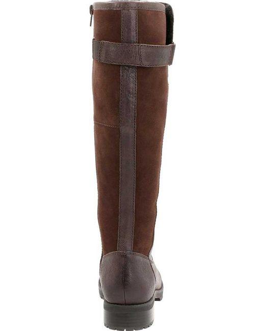 95e1973deaf Lyst - Clarks Faralyn May Waterproof Knee High Boot in Brown - Save 48%