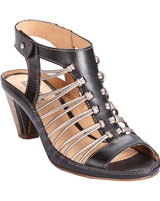 Pikolinos - Black Java Strappy Sandal W5a-0728 - Lyst