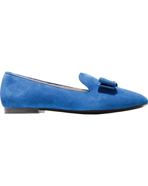 6df77bbf09b Lyst - Cole Haan S Tali Bow Loafer in Blue - Save 60%
