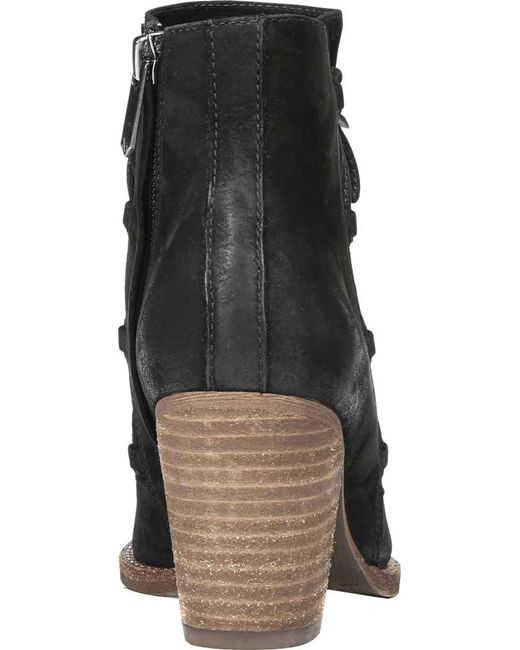 ebd6b39fcb0c2f Lyst - Sam Edelman Women s Millard Lace Up Bootie in Black - Save 26%