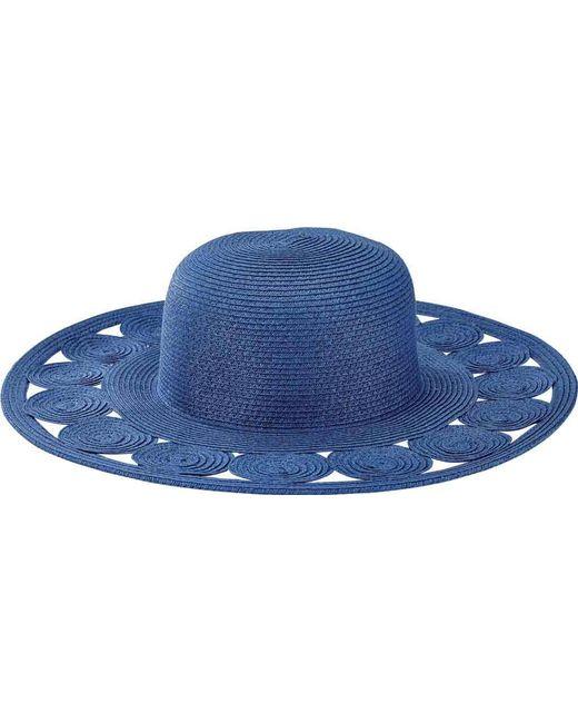 San Diego Hat Company - Blue Round Crown Sun Hat With Circular Details  Ubm4459 - Lyst 8aa55569c540