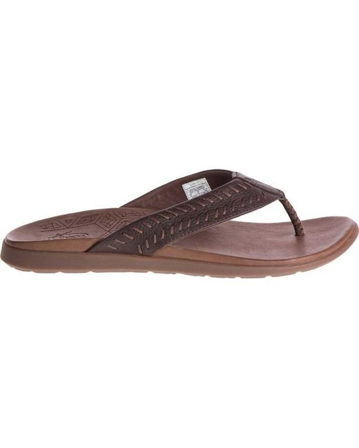 30b5edd7f34d Lyst - Chaco Jackson Flip Flop in Brown for Men - Save 56%