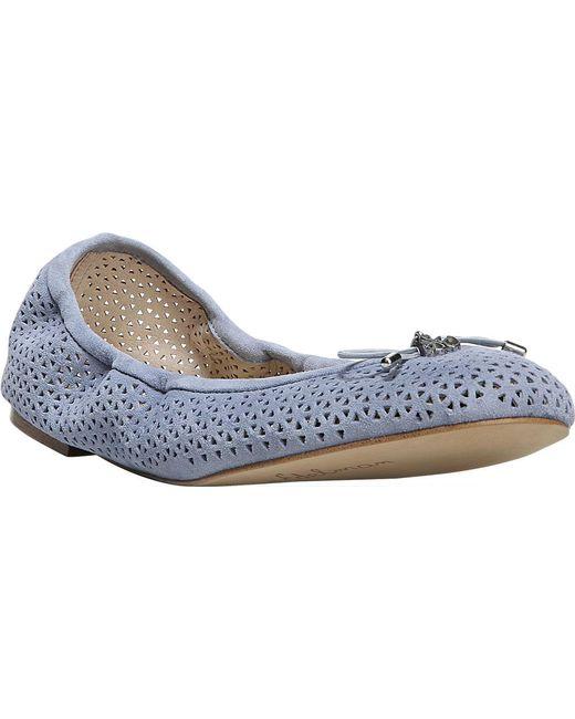 715ea54bda6cd Sam Edelman - Blue Felicia Ballet Flat - Lyst ...