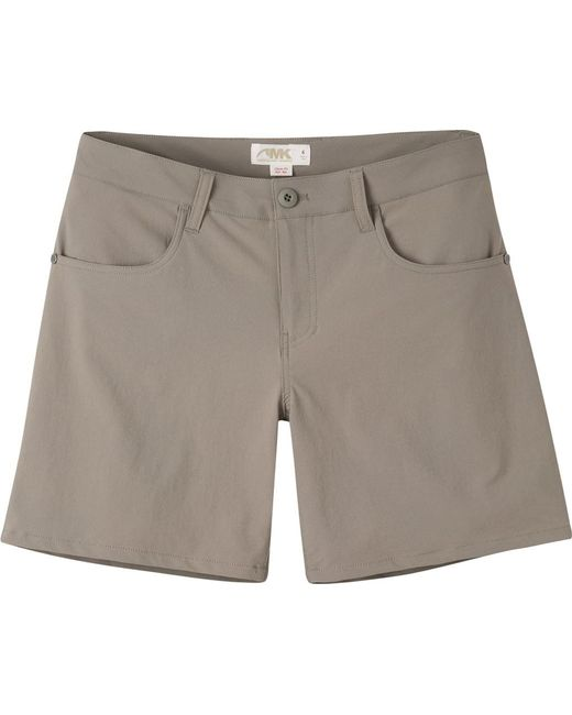 "Mountain Khakis - Gray Cruiser Ii Classic Fit Short 7"" Inseam - Lyst"