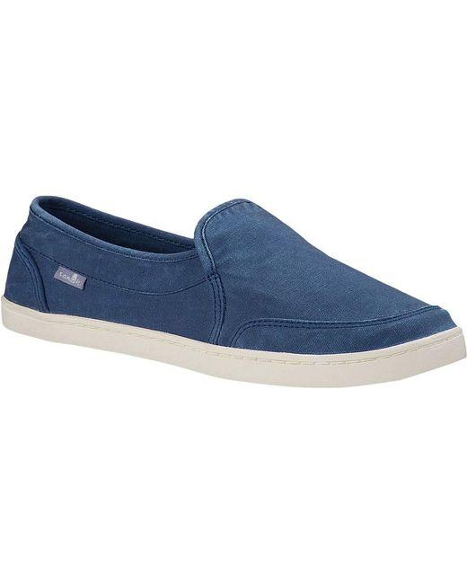 Sanuk - Blue Pair O Dice Sneaker - Lyst