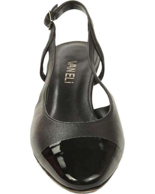 1b95cbd4b3d Lyst - Vaneli  Aliz  Slingback Pump in Black - Save 7%